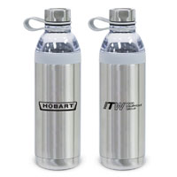 Dual Opening Stainless Steel Water Bottle-20 Oz.