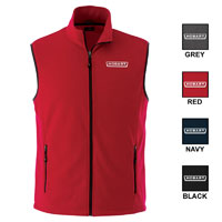 Men's Full Zip Fleece Vest