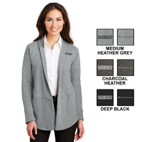 Ladies Authority Interlock Cardigan