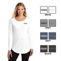 Ladies Long Sleeve Tunic Tee