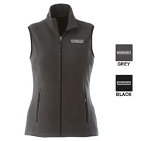 Ladies Full Zip Fleece Vest