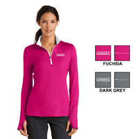 Ladies Nike Dri-Fit Stretch 1/2-Zip