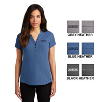 Ladies Ogio Tread Henley Shirt