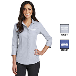 Hobart Service Ladies Button-down Shirt